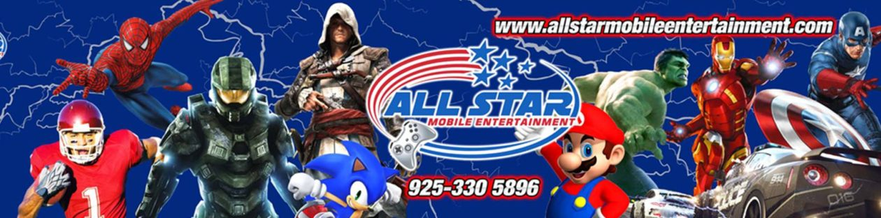 All Star Mobile Entertainment – Video Game Truck Parties – Pittsburg California – East Bay Area & Contra Costa County