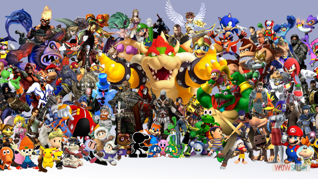 All Star Video Game Characters!