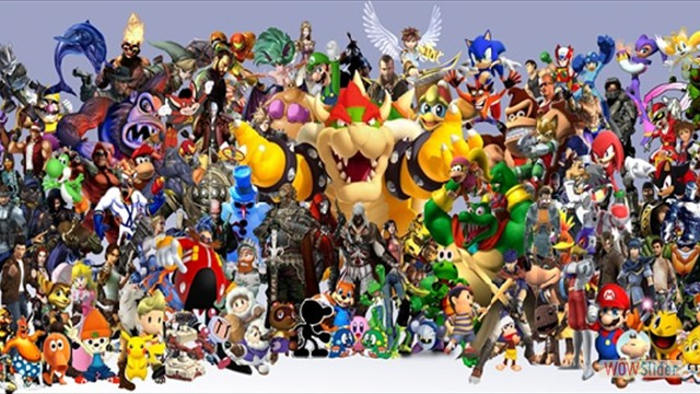 All Star Video Game Characters